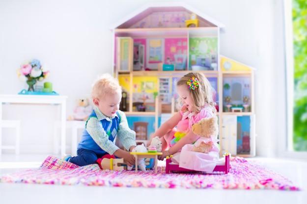 little girl's bedroom