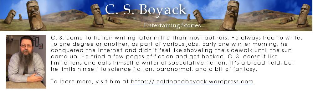 C S Boyack's bio box