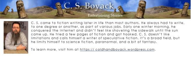 C.S. bio & blog